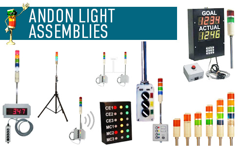 Andon Light Assemblies