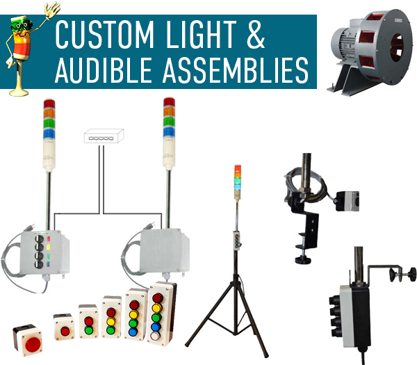 Custom Light & Audible Assemblies