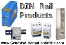 Genesis Automation DIN Rail Products Banner