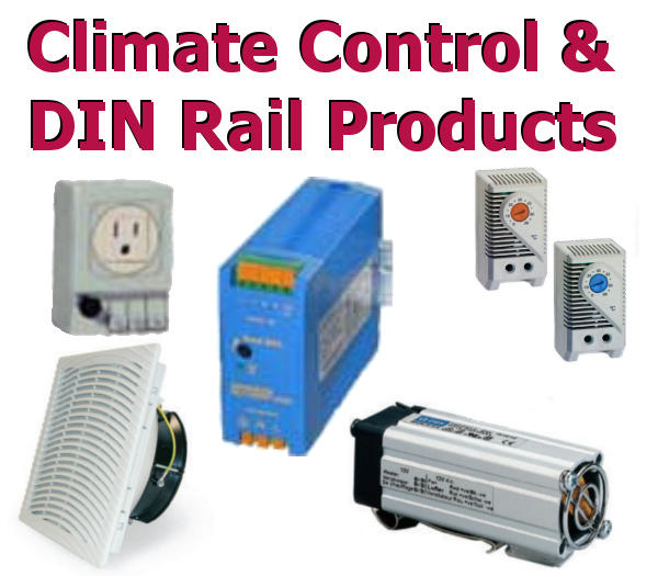 Enclosure Climate Control & DIN Rail Products