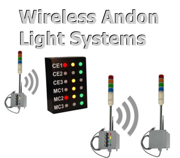 Wireless Andon Lights