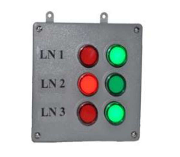 1 led andon production bingo board
