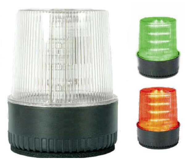 LT-LED DUAL Strobe Green Steady, Red Flash