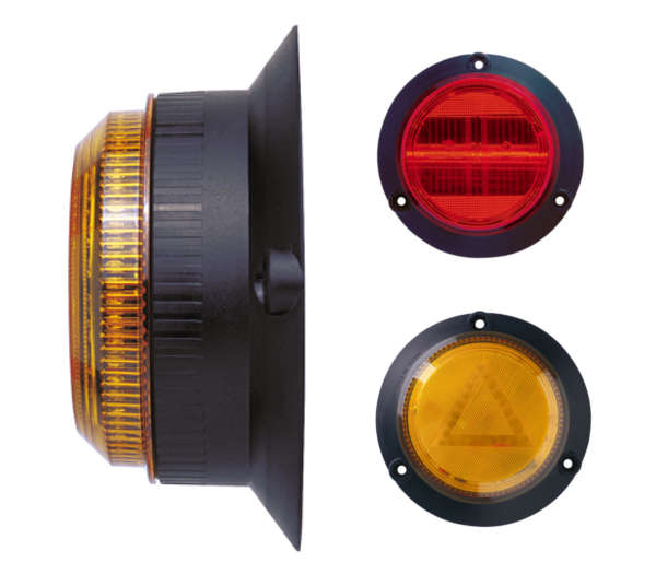 SQ Low Profile Directional Strobe or LED