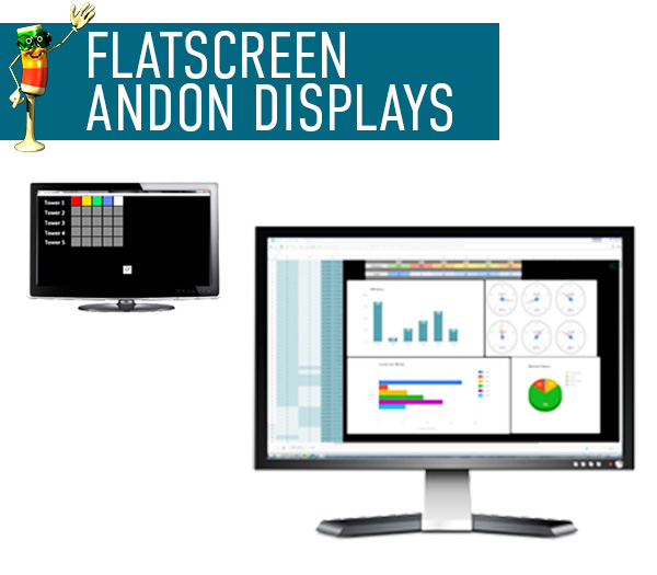Flatscreen Andon Displays