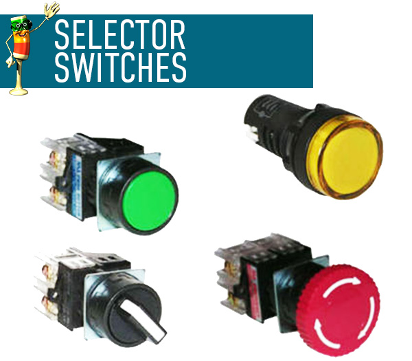 Pilot Lights & Push Buttons