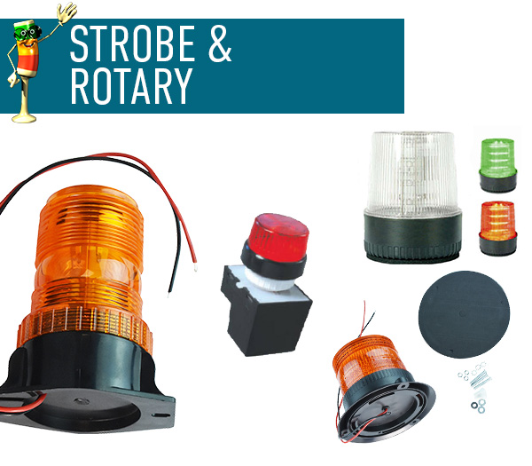 Strobe and Rotary Lights