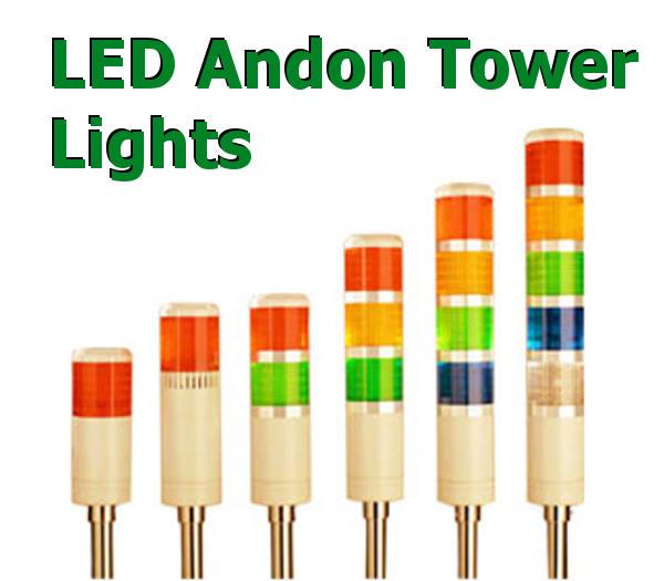 Light Tower Sales: Andon Light Assemblies