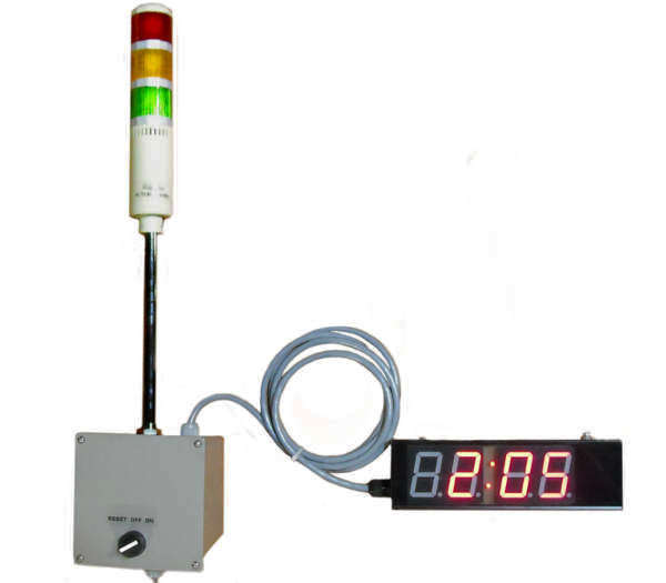 Production Cycle Timer Tower Light